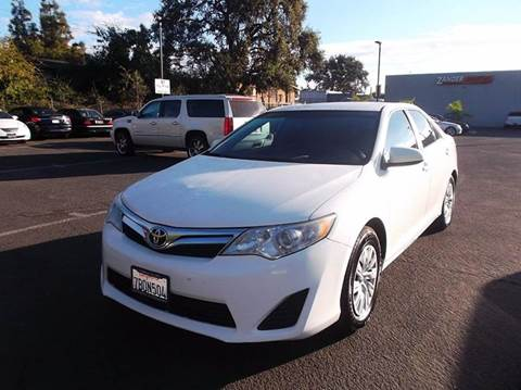 Toyota Camry For Sale in Sacramento CA  Carsforsalecom