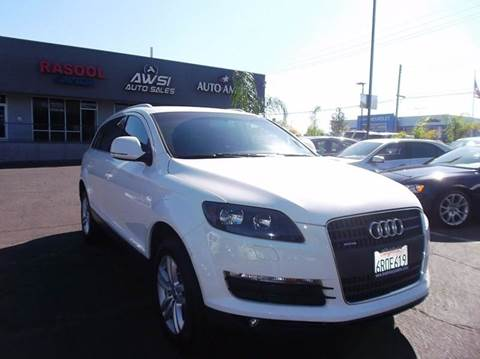 2009 Audi Q7 for sale in Sacramento, CA