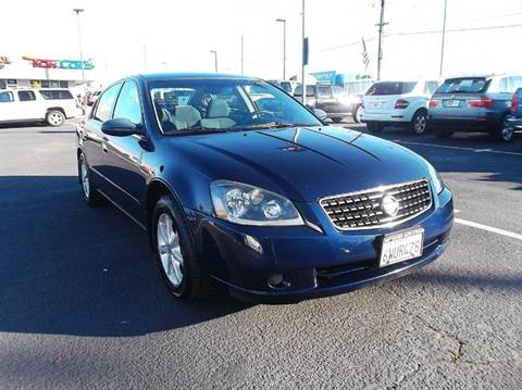 2005 nissan altima for sale sacramento ca. Black Bedroom Furniture Sets. Home Design Ideas