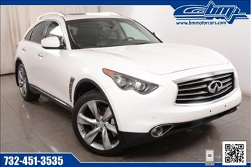 2013 Infiniti FX50 for sale in Rahway, NJ