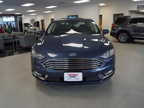 2018 Ford Fusion for sale in Republic, MO