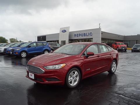 2018 Ford Fusion Hybrid for sale in Republic, MO