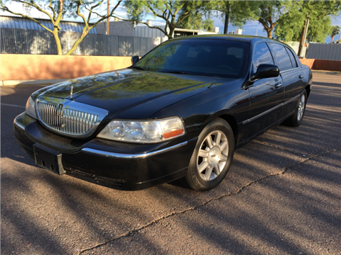 2007 Lincoln Town Car for sale in Phoenix, AZ