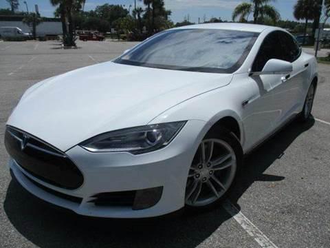 2013 Tesla Model S for sale in Orlando, FL