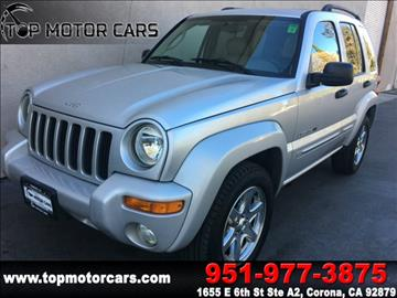 2003 Jeep Liberty for sale in Corona, CA