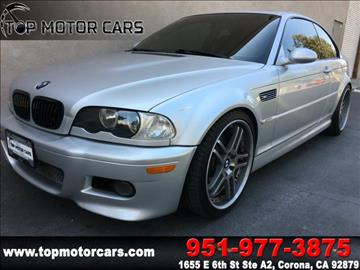 2003 BMW M3 for sale in Corona, CA