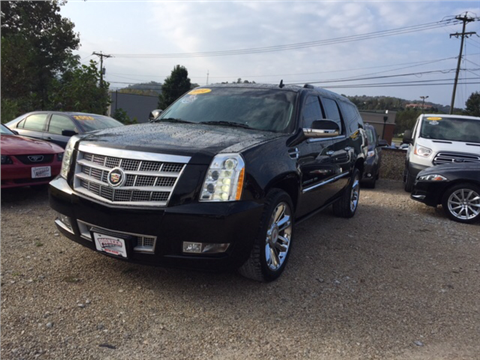 2014 Cadillac Escalade ESV for sale in Lavalette, WV