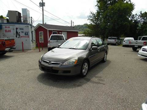 2007 Honda Accord for sale in Lavalette, WV