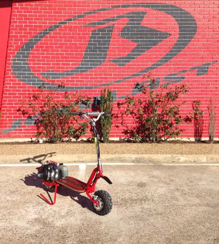 -1 Go-Ped Trail Ripper Offroad Scooter Red - Gulfport MS