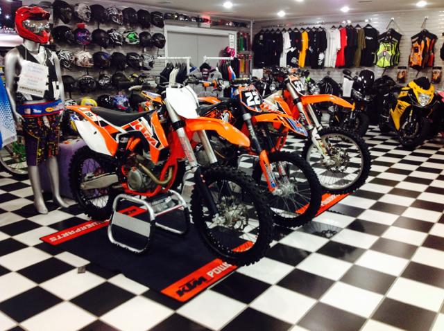 2015 KTM 250Sxf Dirt Bike 4 Stroke Orange - Gulfport MS