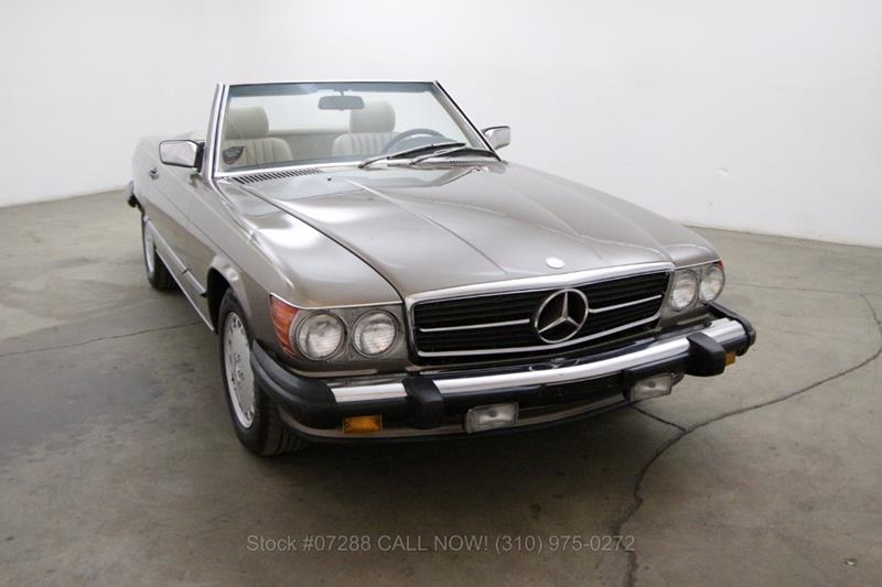1988 mercedes benz 560 class for sale in california for Mercedes benz lease los angeles