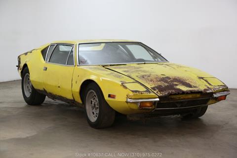 Pantera For Sale >> 1971 De Tomaso Pantera For Sale In Los Angeles Ca