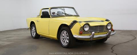 1966 Triumph TR4 for sale in Los Angeles, CA