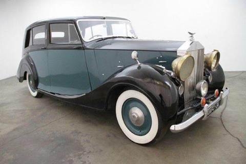 1949 Rolls-Royce Wraith