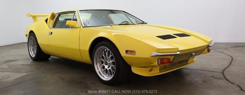 1972 De Tomaso Pantera for sale in Los Angeles, CA