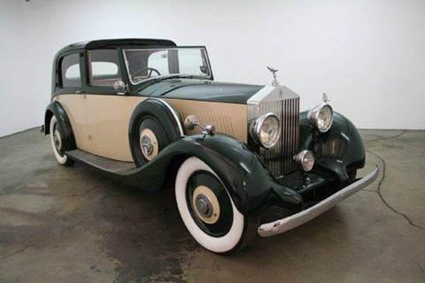 1936 Rolls-Royce 20/25 Sedanca Deville