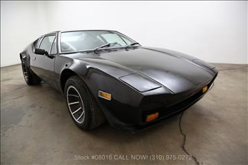 1972 De Tomaso Pantera for sale in Los Angeles, CA