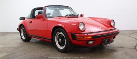 1986 Porsche 911 Carrera for sale in Los Angeles, CA