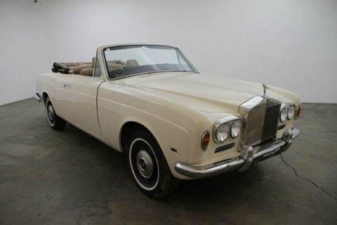 1970 Rolls-Royce Silver Shadow DHC