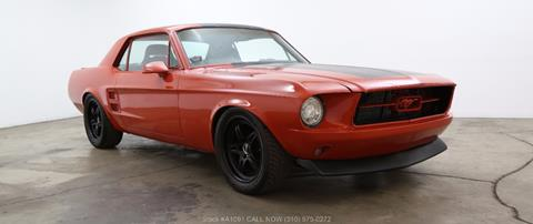 1967 Ford Mustang For Sale In California Carsforsale Com