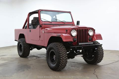1981 Jeep CJ-8 for sale in Los Angeles, CA
