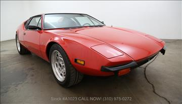1971 De Tomaso Pantera for sale in Los Angeles, CA
