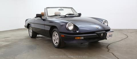 Alfa Romeo Spider For Sale In California Carsforsalecom - 1993 alfa romeo spider for sale