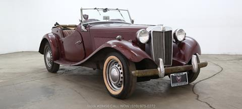1953 MG TD for sale in Los Angeles, CA