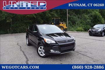 2014 Ford Escape for sale in Putnam, CT