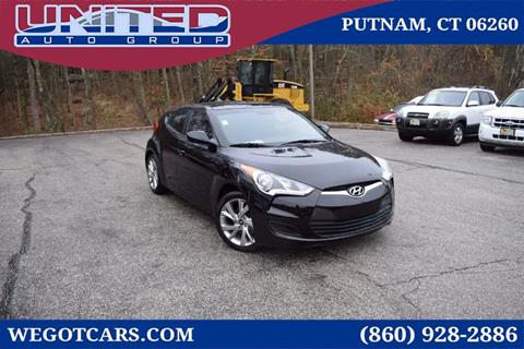 2016 Hyundai Veloster for sale in Putnam, CT