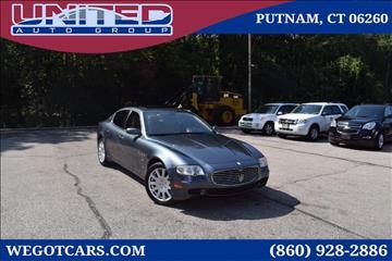 2005 Maserati Quattroporte for sale in Putnam, CT
