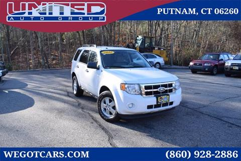 2011 Ford Escape for sale in Putnam, CT