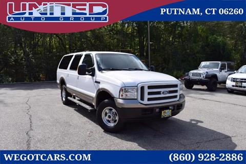 2005 Ford Excursion for sale in Putnam, CT