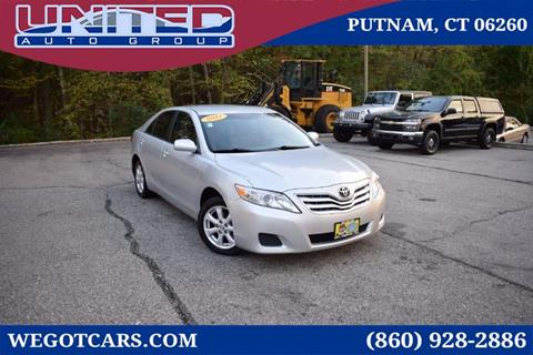 2011 Toyota Camry for sale in Putnam, CT