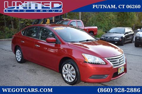 2013 Nissan Sentra for sale in Putnam, CT