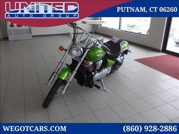2008 Kawasaki Volcom for sale in Putnam, CT
