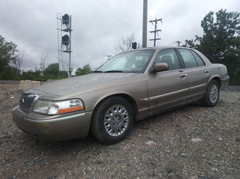 2003 Mercury Grand Marquis car for sale in Detroit