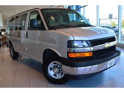 2017 Chevrolet Express Passenger for sale in Akron, OH