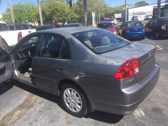 2004 Honda Civic LX 4dr Sedan - Tampa FL