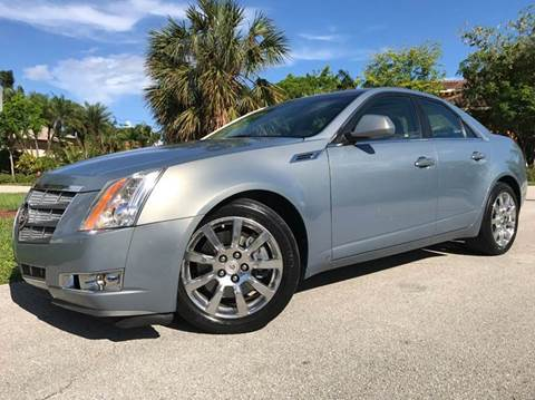 2008 Cadillac CTS for sale in Pompano Beach, FL