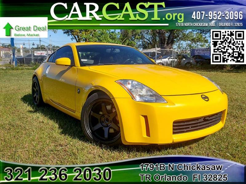 2005 nissan 350z anniversary edition 2dr coupe in orlando fl carcast. Black Bedroom Furniture Sets. Home Design Ideas