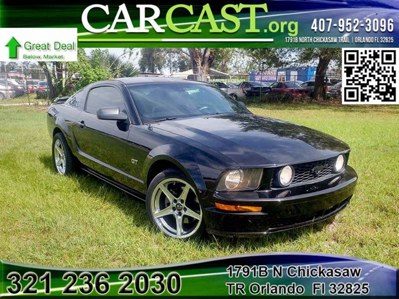 2007 ford mustang gt premium 2dr fastback in orlando fl - carcast