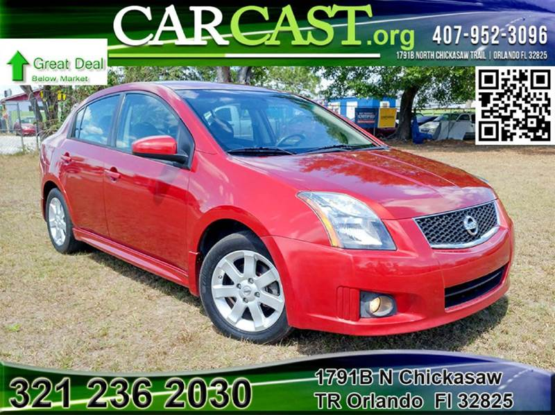 2010 nissan sentra 2 0 sr 4dr sedan in orlando fl carcast. Black Bedroom Furniture Sets. Home Design Ideas