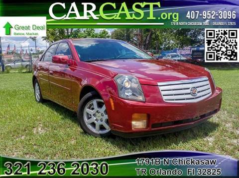 2007 Cadillac CTS for sale in Orlando, FL