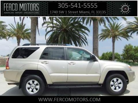2004 Toyota 4Runner for sale in Miami, FL