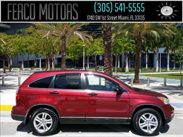 2010 Honda CR-V for sale in Miami, FL