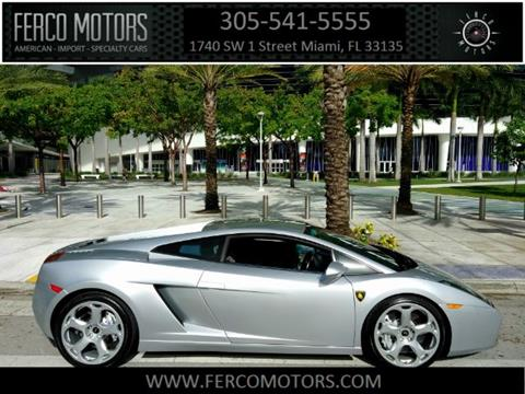 2004 Lamborghini Gallardo for sale in Miami, FL