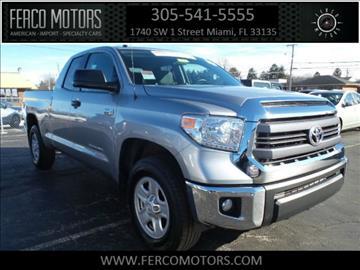 2015 Toyota Tundra for sale in Miami, FL