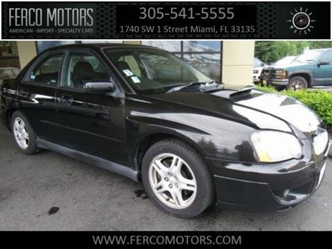 2004 Subaru Impreza for sale in Miami, FL