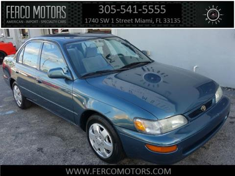 1996 Toyota Corolla for sale in Miami, FL